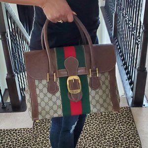 Authentic Vintage Gucci Handbag Doctor Satchel